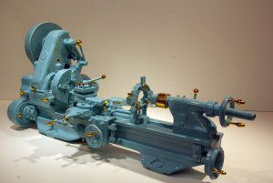 lathe (with gold)