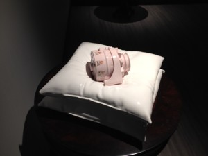 pink alternator on two pillows